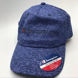 Champion one size hat / cap blue relaxed fit mens